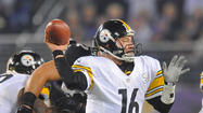 As Charlie Batch stood at a podium in a sweat-soaked black T-shirt Sunday night, he took in the scene after quarterbacking the Pittsburgh Steelers past the Ravens at M&T Bank Stadium.