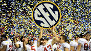 ATLANTA -- No one down here in Southeastern Conference country was surprised Sunday when the final Bowl Championship Series standings confirmed Alabama would be playing Jan. 7 for the national title.