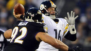 The Ravens were fortunate that Steelers quarterback Ben Roethlisberger didn't play Sunday because the score might have been worse.