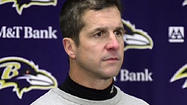VIDEO Ravens' Harbaugh on tough loss to Steelers