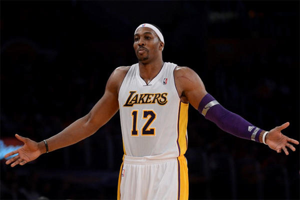 Dwight Howard missed seven of 14 free throw attempts in the fourth quarter during the Lakers' loss to the Magic.