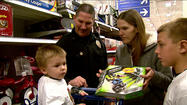 Mishawaka officers make the holidays merrier for families in need