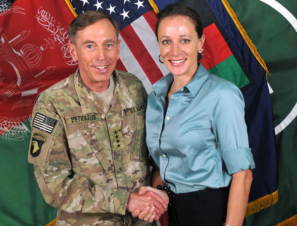 Year in Review: News of 2012: CIA Director and retired four-star general David Petraeus resigned after admitting to an affair with his biographer, Paula Broadwell, in November.