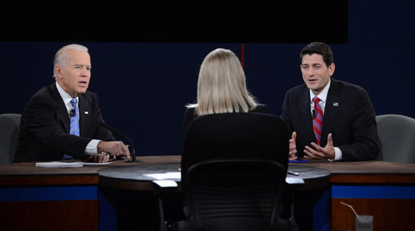 Year in Review: News of 2012: Vice President Joe Biden, left, and Republican vice presidential candidate Paul Ryan participated in the vice presidential debate on Oct. 10.