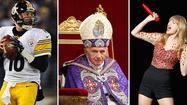 Charlie Batch, Pope Benedict and Haylor are at the top of the online trends this morning