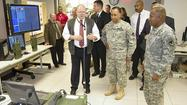 Top commanding general visits Aberdeen Proving Ground