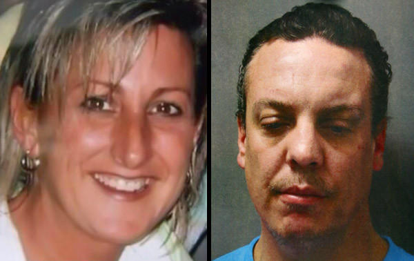 Hunters in a wooded area in northern Indiana found a body and authorities suspect it may that of Gena Chiodo, left, of Calumet City, whose boyfriend, Donal Clark, right, has been charged with her murder.