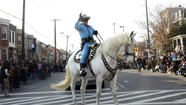 Lone Ranger soldiers on in Hampden parade, but without longtime horse