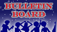 <em>Deadline for submitting information to the Bulletin Board is noon Thursday. There is no charge for this service. Items run as space permits. Mail information to The Advocate-Messenger, P.O. Box 149, Danville, Ky. 40423- fax to (859) 236-9566 or call 236-2551, ext. 352.</em>