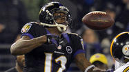 In the first meeting between the Ravens and the Pittsburgh Steelers, the Ravens escaped with a 13-10 win on the strength of a 63-yard punt return for a touchdown by Jacoby Jones in the first quarter.