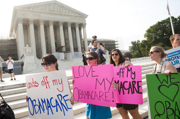 Year in Review: News of 2012: On June 28, the Supreme Court decided to uphold key components of President Obamas revised health care law.