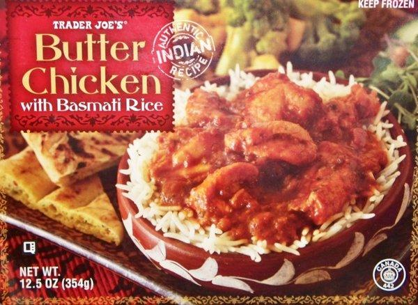 Nearly 5,000 pounds of Trader Joe's Butter Chicken with Basmati Rice is being recalled