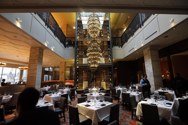 "<a href=""http://chicago.metromix.com/venues/mmxchi-del-friscos-double-eagle-steakhouse-venue"">Del Frisco's Double Eagle Steak House</a> opened in early December in the Gold Coast."