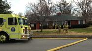 SPRINGFIELD, Mo. -- One person is suspected of starting fires at two homes in east Springfield.