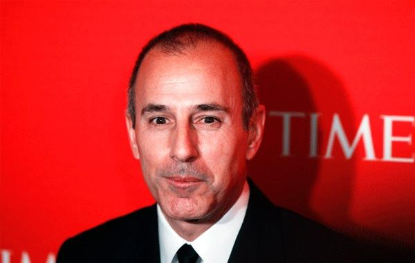 Television personality Matt Lauer arrives to be honored at the Time 100 Gala in New York, April 24, 2012.