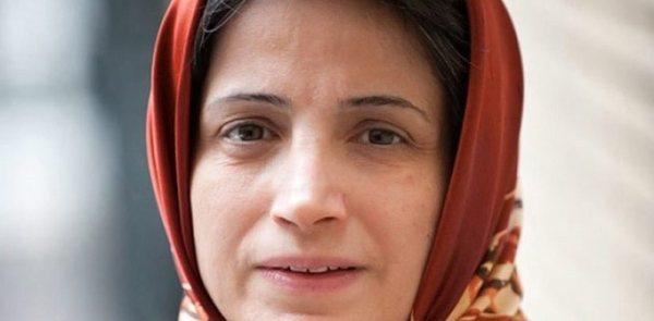 An undated picture made available on Oct. 26, 2012, shows imprisoned Iranian lawyer Nasrin Sotoudeh.