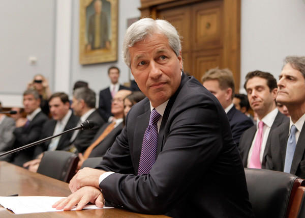 Year in Review: News of 2012: After it was revealed that JPMorgan Chase lost at least $3 billion in bad trades in early May, CEO Jamie Dimon was asked to testify to the Senate Banking Committee.