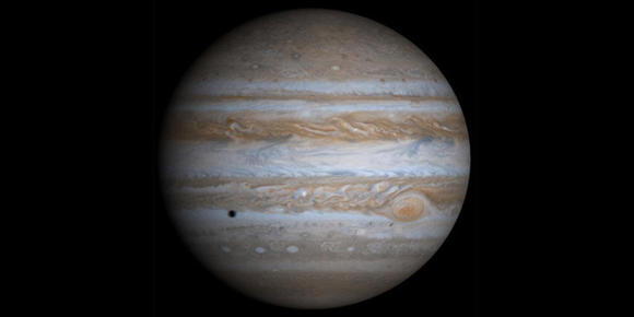 Jupiter, the gaseous giant