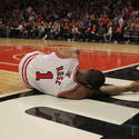 Derrick Rose gets injured