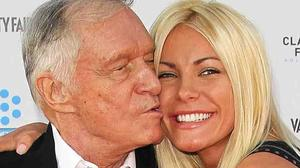 Hugh Hefner, Crystal Harris reportedly engaged to be married again