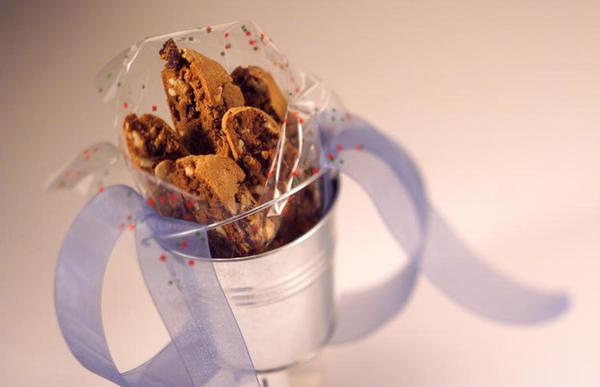 "Minced crystallized ginger and dried sour cherries add a little perk and bright color to biscotti, making for a festive holiday gift. <a href=""http://www.latimes.com/features/la-fo-chewy-ginger-sour-cherry-biscotti-s,0,7557847.story"">Click here for the recipe.</a>"