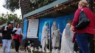 Santa Monica Nativity display goes on -- on private property
