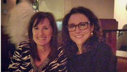Julia Louis-Dreyfus back in Baltimore and eating out