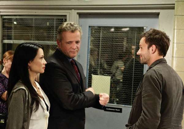"A scene from the CBS' show ""Elementary."""