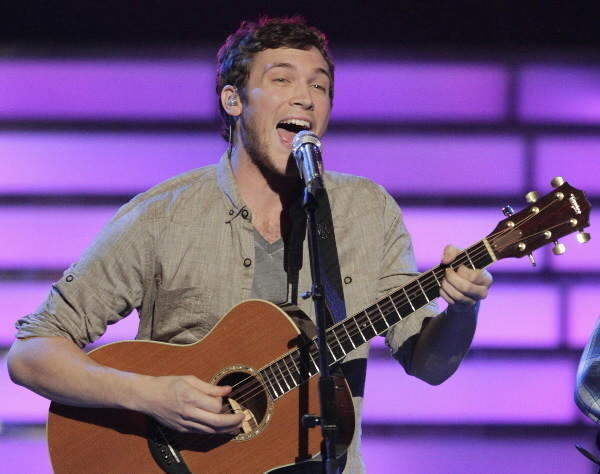 Phillip Phillips, from Leesburg, Ga., won the 11th season of 'American Idol' is part of the bill of the 96.5 TIC All Star Christmas show on Saturday, Dec. 8, at Toyota Presents Oakdale Theatre, 95 S Turnpike Road, Wallingford.