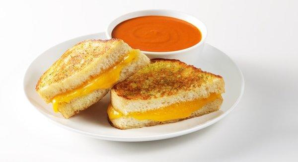 One of the Melt's classic grilled cheese offerings.