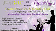 Haute Couture & Holiday Hair