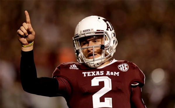 Johnny Manziel is one of the three Heisman Trophy finalists.