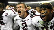 Texas A&M quarterback Johnny Manziel, Notre Dame linebacker Manti Te¿o and Kansas State quarterback Collin Klein were named finalists for the Heisman Trophy.