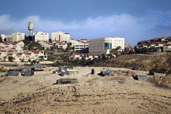Israel intends to carry out extensive building in this area known as E-1 between Ma'ale Adumim and Jerusalem.
