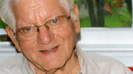 Fred William Emerick, 85, of Fairhope, passed away Sunday, Dec. 2, 2012, at his residence. Born May 3, 1927, in Fairhope; he was the youngest and last surviving child of the late George Valentine and Maretta Pearl (Clites) Emerick. Fred attended the one-room school in Fairhope. In 1945 at the age of 17, he joined the U.S. Navy serving in World War II. Upon being discharged, he married his childhood sweetheart, Sara F. Cummins. She preceded him in death in 2005 after 57 years of marriage. Fred worked for several years at the Celanese before moving to Baltimore, Md. He was employed by Bethlehem Steel for 33 years until his retirement in 1984. After retirement, Fred and Sara returned to Fairhope, and enjoyed spending winter at their home in Brandon Fla. He enjoyed hunting, riding his lawn mower, crossword puzzles and spending time with family and friends. Fred was a faithful member of Fairhope Community Church, where he served as a greeter and bell ringer. He is survived by his children, Cheryl E. Norris and husband, Richard, Skyesville, Md., Dawn C. Emerick and husband, Jose Carrio, York; Keith M. Chipps of Bonaire, Ga., Carla A. LeCain and husband, David, Bel Air, Md., and Susan C. Pfeil and husband, Michael, Abingdon, Md.; nine grandchildren, 13 great-grandchildren, and numerous nieces and nephews. Friends will be received at the Harvey H. Zeigler Funeral Home Inc., 169 Clarence Street, Hyndman, on Wednesday from 2 to 4 and 7 to 9 p.m. A funeral service will be conducted at the Fairhope Community Church on Thursday at 11 a.m. with the Pastor James Swauger officiating. Friends will be received at the church for one hour immediately prior to the service. Burial will follow at Comps Cemetery, Hyndman, PA, with military honors by the Ft. Bedford Honor Guard. In lieu of flowers, the family requests that donations be made to Fairhope Community Church, Fairhope, PA 15538.