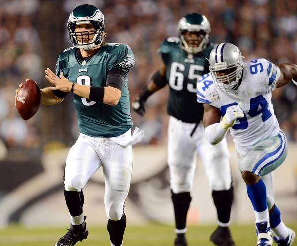 Eagles quarterback Nick Foles was 22-for-34 for 251 yards and a TD against Dallas.