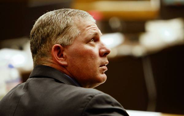 Former New York Mets star Lenny Dykstra, pictured in a San Fernando courtroom in March, was sentenced Monday to 61/2 months in prison for federal bankruptcy fraud. The Garden Grove native is already serving a three-year state prison term for auto theft.