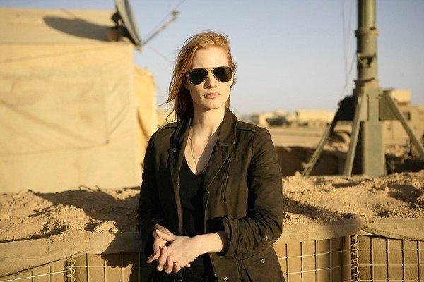 "Jessica Chastain plays a member of the elite team of spies and military operatives who secretly devoted themselves to finding Osama bin Laden in ""Zero Dark Thirty."""