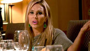 We pick up right where we left off: at the dinner table, post-F-bomb. And it is tense, y'all. Brandi and Kim leave the table, and Lisa stays behind, defending Brandi as the other Housewives gasp at her lack of couth. Blah.