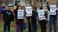 Carpentersville teachers strike