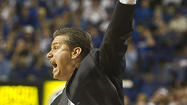 LEXINGTON - Some Kentucky basketball fans have been in panic-mode since Saturday when UK lost a second straight game, something that has happened just one other time in coach John Calipari's four seasons here. The panic intensified when UK dropped out of the Associated Press national rankings this week after losing at Notre Dame Thursday and at home to Baylor Saturday.