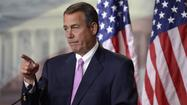 Boehner makes counteroffer on 'fiscal cliff'
