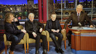 Led Zeppelin talk sex, Vikings and Elvis with David Letterman