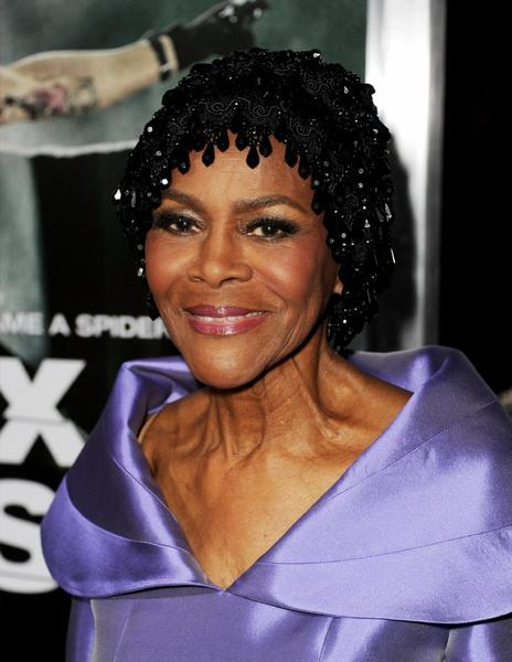 "Cicely Tyson arrives at the premiere of ""Alex Cross"" at the Arclight Theater in October."