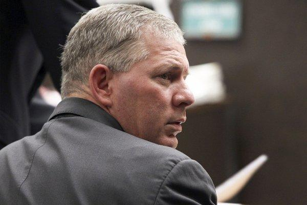 Lenny Dykstra in court earlier this year.