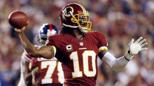 Ravens will have their hands full with scary-good Redskins QB RG3