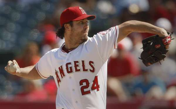 Dan Haren went 12-13 for the Angels last season.