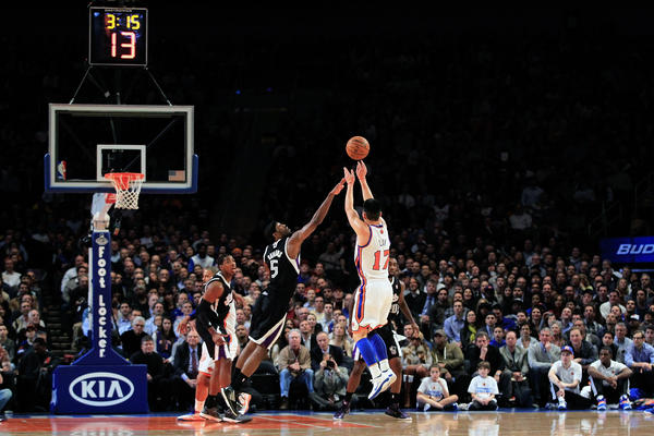 For one shining moment, the New York Knick (now Houston Rocket) was the outright sensation of the entire sports world.
