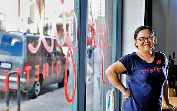 Diep Tran's Good Girl Dinette will host the Young Folks Urban Farmers dinner.