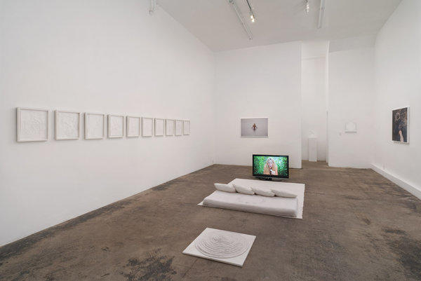 "Jen DeNike, ""The Star Card"" (installation shot), 2012"